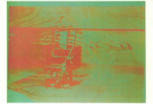 Andy Warhol, Electric Chair, sérigraphie,1967 {JPEG}